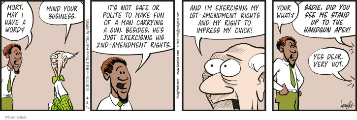Comic Strip Darrin Bell  Rudy Park 2015-04-04 arms