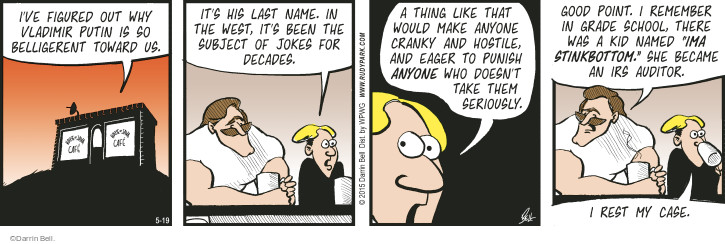 Comic Strip Darrin Bell  Rudy Park 2015-05-19 subject