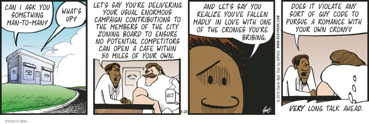 Comic Strip Darrin Bell  Rudy Park 2015-05-20 does