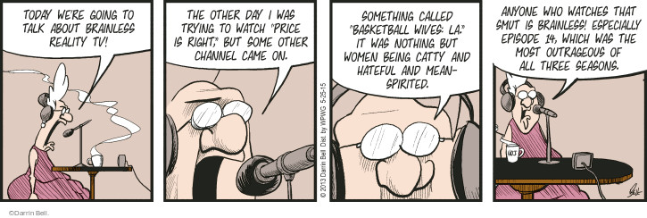 Comic Strip Darrin Bell  Rudy Park 2015-05-25 episode