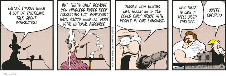Comic Strip Darrin Bell  Rudy Park 2015-05-27 resource
