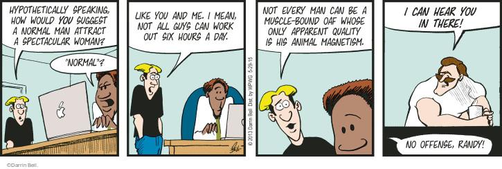 Comic Strip Darrin Bell  Rudy Park 2015-05-29 offense