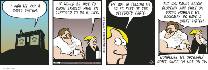Comic Strip Darrin Bell  Rudy Park 2015-06-23 television cartoon