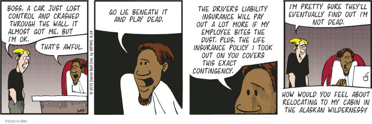 Comic Strip Darrin Bell  Rudy Park 2015-06-24 wouldn't