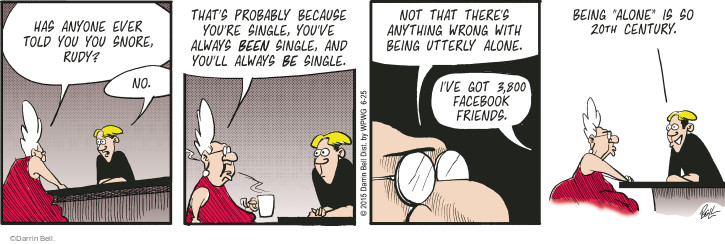 Comic Strip Darrin Bell  Rudy Park 2015-06-25 internet dating