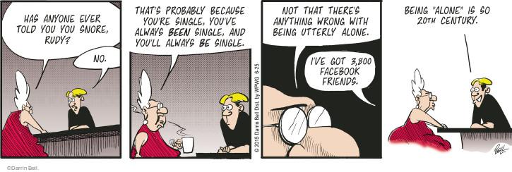 Comic Strip Darrin Bell  Rudy Park 2015-06-25 20th century