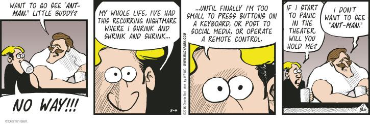 Comic Strip Darrin Bell  Rudy Park 2015-08-04 online