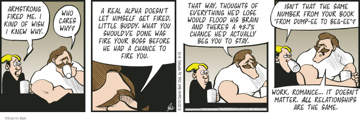 Comic Strip Darrin Bell  Rudy Park 2015-09-15 mankind