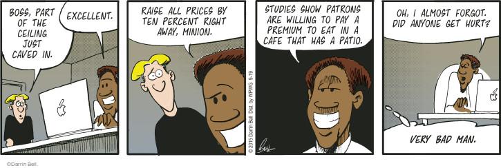 Comic Strip Darrin Bell  Rudy Park 2015-09-19 study