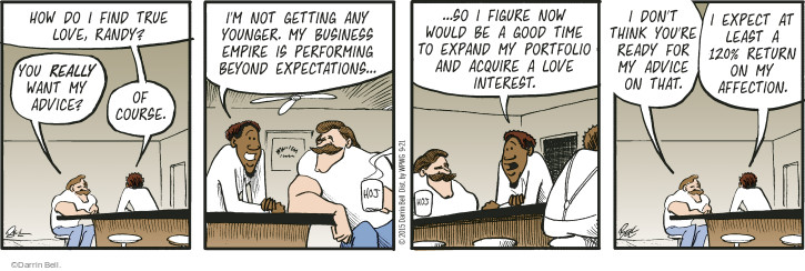 Comic Strip Darrin Bell  Rudy Park 2015-09-21 investment