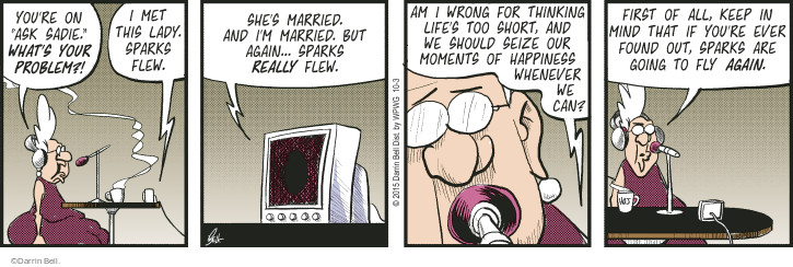 Comic Strip Darrin Bell  Rudy Park 2015-10-03 mind