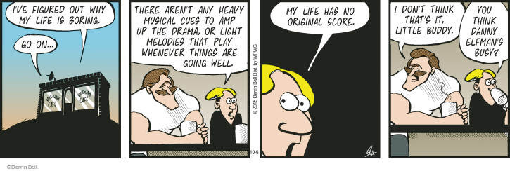 Comic Strip Darrin Bell  Rudy Park 2015-10-06 heavy