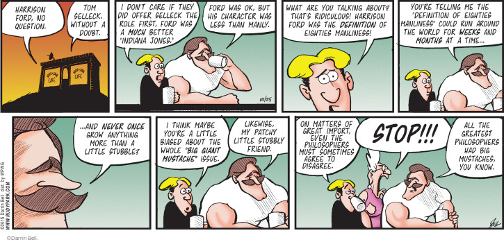 Comic Strip Darrin Bell  Rudy Park 2015-10-25 whole
