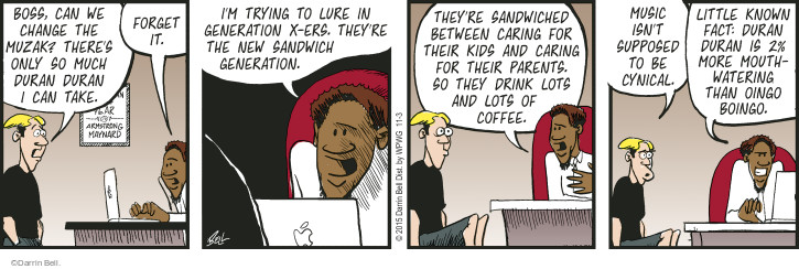 Comic Strip Darrin Bell  Rudy Park 2015-11-03 sandwich