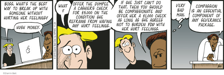 Comic Strip Darrin Bell  Rudy Park 2015-11-24 payoff