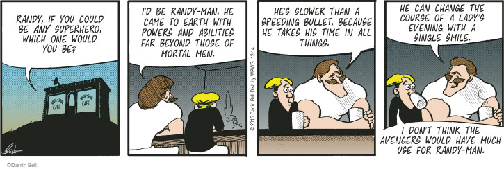 Comic Strip Darrin Bell  Rudy Park 2015-12-14 slow