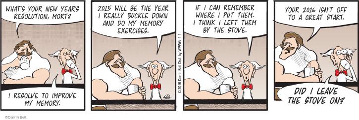Comic Strip Darrin Bell  Rudy Park 2016-01-01 memory