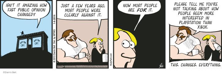 Cartoonist Darrin Bell  Rudy Park 2016-01-06 public