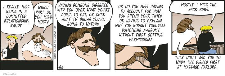 Comic Strip Darrin Bell  Rudy Park 2016-01-26 explanation