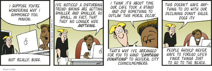 Comic Strip Darrin Bell  Rudy Park 2016-02-03 decline