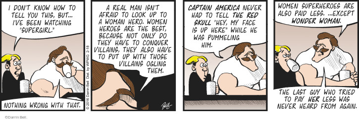 Comic Strip Darrin Bell  Rudy Park 2016-02-18 red