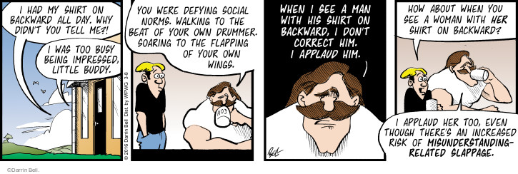 Comic Strip Darrin Bell  Rudy Park 2016-03-08 individual