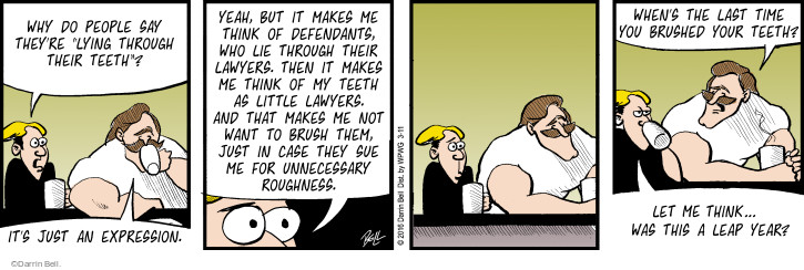 Comic Strip Darrin Bell  Rudy Park 2016-03-11 do