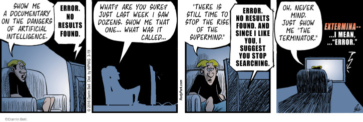 Comic Strip Darrin Bell  Rudy Park 2016-03-19 result