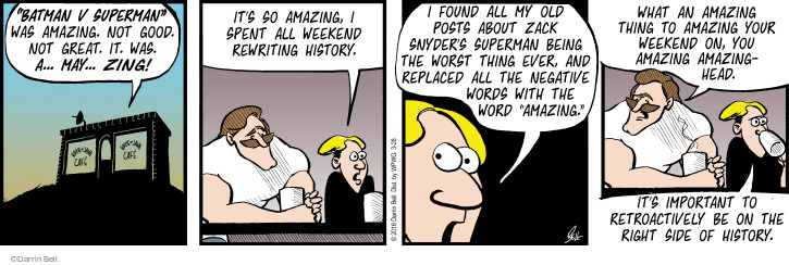 Comic Strip Darrin Bell  Rudy Park 2016-03-28 negative review