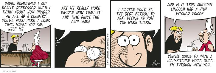 Cartoonist Darrin Bell  Rudy Park 2016-04-27 best age
