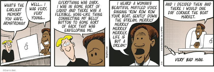 Comic Strip Darrin Bell  Rudy Park 2016-05-10 life