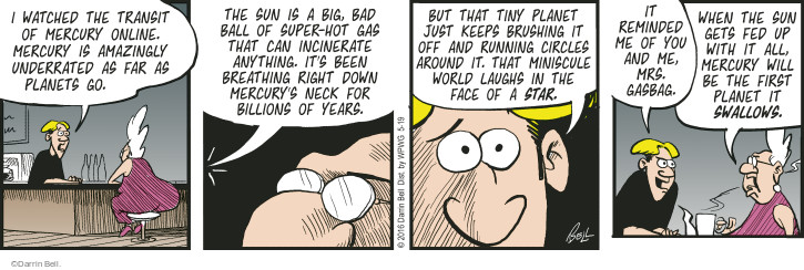 Comic Strip Darrin Bell  Rudy Park 2016-05-19 around the world