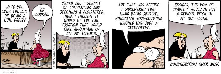 Comic Strip Darrin Bell  Rudy Park 2016-06-13 advantage