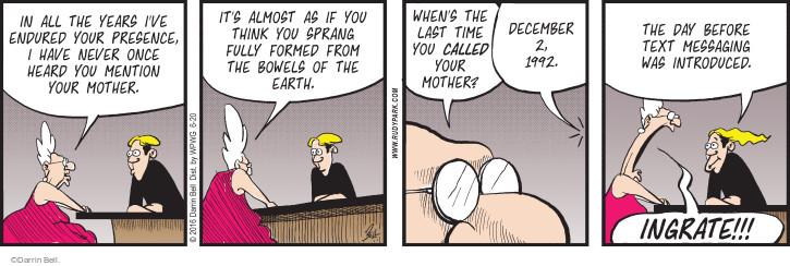 Comic Strip Darrin Bell  Rudy Park 2016-06-20 text message