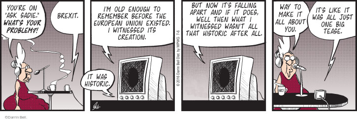 Comic Strip Darrin Bell  Rudy Park 2016-07-06 does