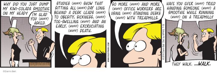 Comic Strip Darrin Bell  Rudy Park 2016-07-19 study