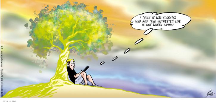 Cartoonist Darrin Bell  Rudy Park 2016-08-14 media