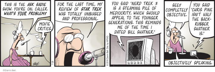 Comic Strip Darrin Bell  Rudy Park 2016-07-28 movie review