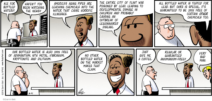 Comic Strip Darrin Bell  Rudy Park 2016-08-21 disease