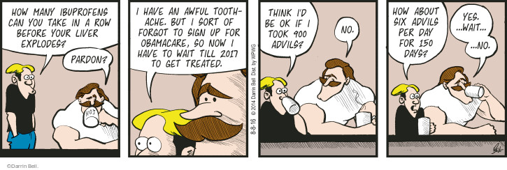 Comic Strip Darrin Bell  Rudy Park 2016-08-08 coverage