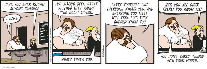 Comic Strip Darrin Bell  Rudy Park 2016-09-08 rock