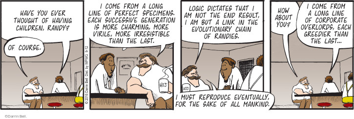 Comic Strip Darrin Bell  Rudy Park 2016-09-12 father