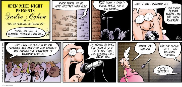 Comic Strip Darrin Bell  Rudy Park 2016-10-02 online