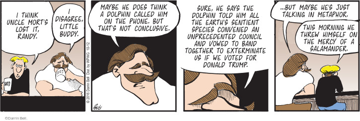 Comic Strip Darrin Bell  Rudy Park 2016-10-12 voting rights
