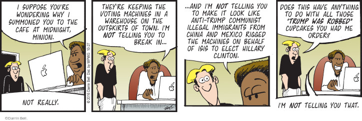 Comic Strip Darrin Bell  Rudy Park 2016-10-27 vote