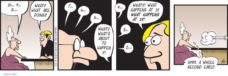 Comic Strip Darrin Bell  Rudy Park 2016-12-02 early