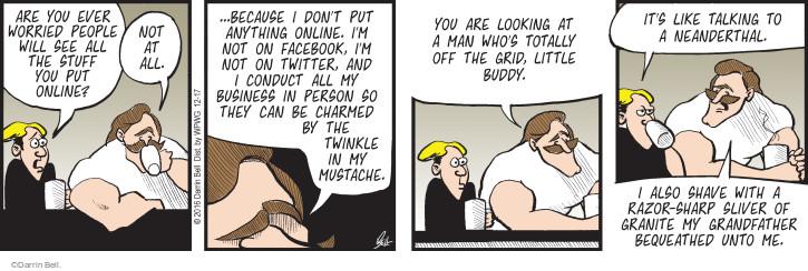 Comic Strip Darrin Bell  Rudy Park 2016-12-17 business man