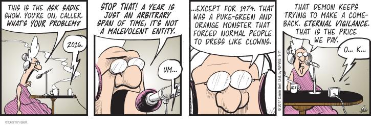 Comic Strip Darrin Bell  Rudy Park 2017-01-11 fashion