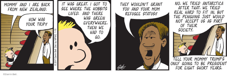 Comic Strip Darrin Bell  Rudy Park 2017-01-16 green