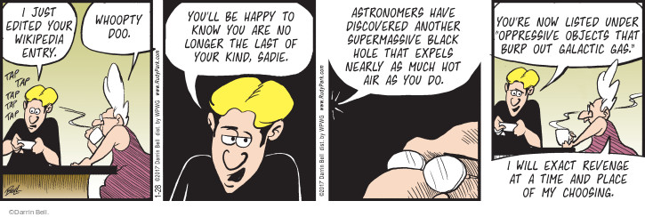 Comic Strip Darrin Bell  Rudy Park 2017-01-28 astronomy